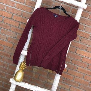 American Eagle Outfitters red sweater
